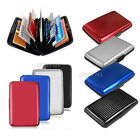 Waterproof Metal Aluminum Business ID Credit Card Holder Wallet Pocket Case Box