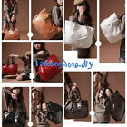 5 Colors Fashion Big Capacity Shining Stone Pattern Bag Hobo PU Shoulder Handbag