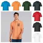 NEW PERSONALISED POLO SHIRT WORK OFFICE UNIFORM LOGO DARTS BUSINESS STAFF STAG