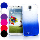 3D RAIN DROP DESIGN HARD CASE COVER For Samsung Galaxy S4 IV i9500 + Film