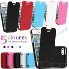 STYLISH MAGNETIC LEATHER FLIP CASE COVER FITS IPHONE 5 5G  FREE SCREEN PROTECTOR