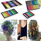 Non-toxic 6 / 12 / 24 / 36 Colors Temporary DIY Hair Color Chalk Dye Pastels Salon Kit