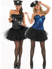 Adult Sexy Tutu Copper Fancy Dress Bodice Top Costume Ladies Womens Female
