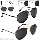 NEW AVIATOR SUNGLASSES PILOT CELEBRITY BLACK MENS WOMENS LADIES BOYS GIRLS UV400