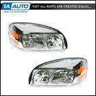 Headlights Headlamps Left & Right Pair Set for 05-09 Uplander Terraza Relay New