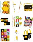 B Duck Gifts-Notebook Pen Pencil Colour Case Messenger Tote Bags & More