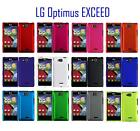 For LG Optimus Exceed LG Lucid VS840 Hard Cover Case + LCD Screen Protector