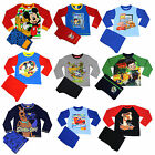 Boys Character Pyjamas | Boys Character PJs | Boys Nightwear | Fr 12m-12y | NEW