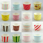 Cake Baking Paper Cup Cupcake Muffin Cases Wedding Home Party Various Designs