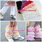 Baby Girls Lace Petti Ruffles Leg Aem Warmers for Rompers Tutu 1-6Y Free Size
