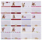 Boofle Bear Credit Card Cards - Sentiments suitable for Females and Friends