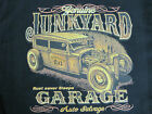 JUNKYARD GARAGE AUTO SALVAGE RAT ROD SPEED WORK SHIRT DICKIES BUTTON UP GARAGE