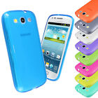 Transparent Glossy Soft Silicone Gel Case Cover FOR Samsung Galaxy S3 i9300