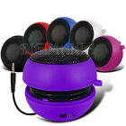 PURPLE COMPACT 3.5MM CAPSULE SPEAKER FOR MOST MOBILE PHONES