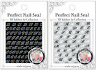 BN Perfect Nail Seal 3D Rubber Art Collection Nail Tip Sticker New 2 Styles