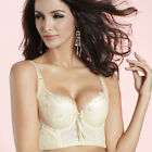 NWT Push Up Padded Massage Wide side support Bra Underwire 34 36 38 40 B C Cup