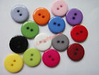 "Bulk multi-color Resin clothes sewing button 18mm Scrapbooking 0.71"" your pick"