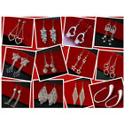 Special Price wholesale fashion beautiful Jewelry Ladies  925silver Earrings+box