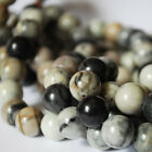 High Quality Grade A Natural Picasso Jasper Round Beads 4mm 6mm 8mm 10mm