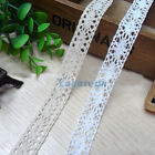 1 Yard Cotton Lace Crochet Fabric Tirm Sewing DIY Accessories Dress/Cloth Craft