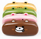 Lovely Korean Style Cute Animal Face Glasses Case Stationery Jewelry Box