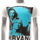 ASIA SIZE S M L XL Nirvana Kurt Cobain T-shirt Tour 1967-1994 White Rock Many