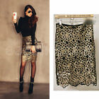 Women's Fashion Crochet High Waist Hollow Cocktail Party Sexy Pencil Skirt S M L