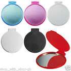 LADIES HANDBAG COSMETIC MIRROR - COMPACT FOLDING PURSE VANITY POCKET MAKE UP