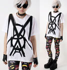 Uniqlo x UTGP 2013 Madonna Symbol Overlapping Text Stroke 100% Cotton T-shirt