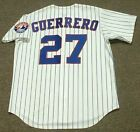 VLADIMIR GUERRERO Montreal Expos 1999 Majestic Throwback Home Baseball Jersey