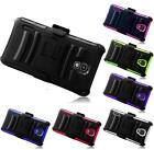 For LG Optimus F7 US780 Side Stand Holster Rugged Cover Case