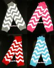 XMAS Wave Stripes Leg Warmer Legging Long Gloves Without Ruffles for Baby Girl