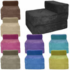 Soft & Snugly Fold out Chair Bed Z Guest Folding Futon Single Chairbed by Gilda