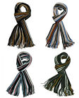 NEW - Retro Luxurious Soft Touch Feel Stripe Scarf Multi Striped Scarves
