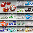 5/10 Lampwork Glass 14MM LARGE HOLE European Charm Bead fit Bracelets Wholesale