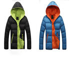 Fashion Han Episode Men's Cotton-Padded Lovers Hooded Short Casual Coat & jacket