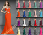 New Long Bridesmaid Dresses Beading Evening Dress Prom Dresses Formal Gown Party