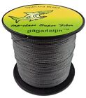 HOT GRAY 100% PE  4 & 8 PLYS  100M TO 1000M  DYNEEMA SPECTRA FISHING BRAID LINE