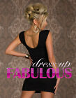 NEW SEXY 10-12 WOMEN'S DRESS PARTY COCKTAIL FORMAL EVENING CLUB WEAR FOR LADIES