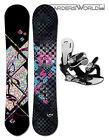 TRANS Snowboard LTD oder STYLE GIRL + Pipe Bindung + Pad OPTIONAL Montage