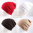 Unisex Men Women Warm beanie winter waffle Beanie Skull hat