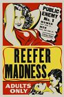 Reefer Madness Public Enemy Women cry Men Will Die Vintage Poster Repro FREE S/H