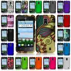 For ZTE Solar Z795G Hard Snap on Two Piece Cover Case + LCD Screen