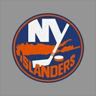 New York Islanders NHL Team Logo Vinyl Decal Sticker Car Window Wall Cornhole $13.86 USD on eBay