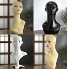 Professional Female Mannequin Head High Quality Display Wigs Jewelry Scarf Glass