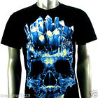 Rock Eagle T-Shirt Sz M L XL XXL 3XL Crystal Skull Biker Tattoo mma Street RE102