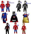 Karneval Kinder Spiderman Batman Superman Princess Fantasie catoon Figur Kostüm