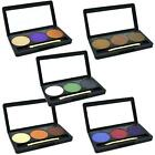 3 Colour Eyeshadow Eye Shadow Palette Makeup Kit Set Make Up with Mirror