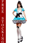 Charming Alice In Wonderland Fancy Dress Costume Outfit