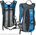 Trespass 15L Rucksack with 2L Hydration Bladder Water Pack Hiking Cycling Bag